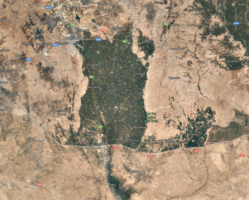 googlemaps turkey syria