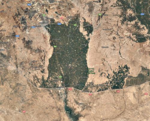 googlemaps turkey syria